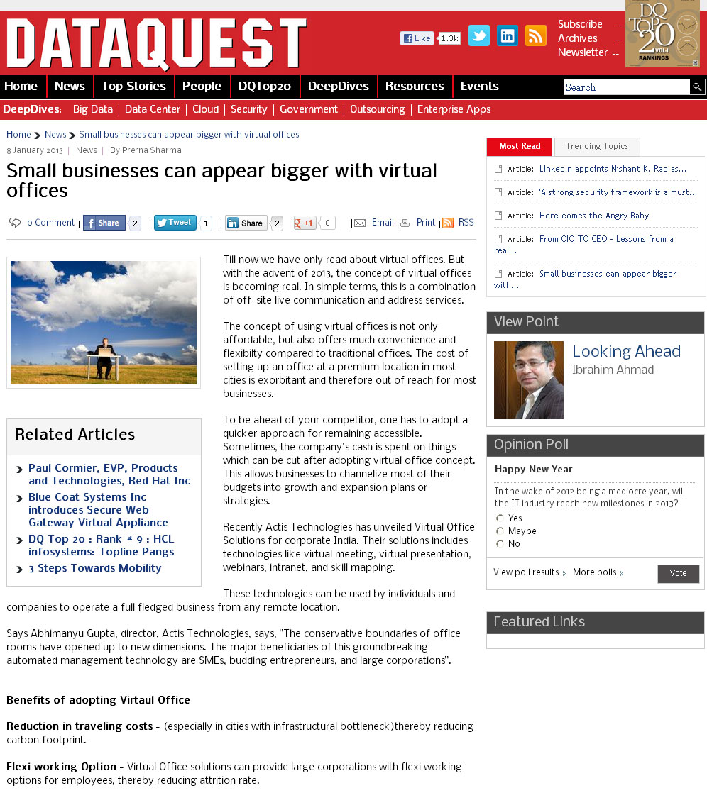 smallbusinessescanappearbiggerwithvirtualoffices-8jan-dqindia