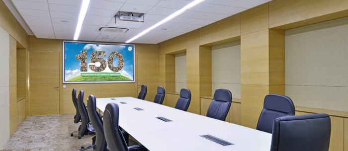 12-seater Meeting room at Bayer Vapi