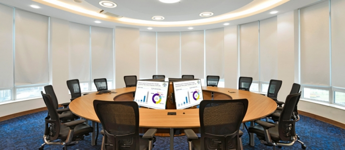 15-seater O-Shaped Conference room at Bayer Thane