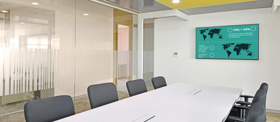 Meeting room at Bayer Vapi