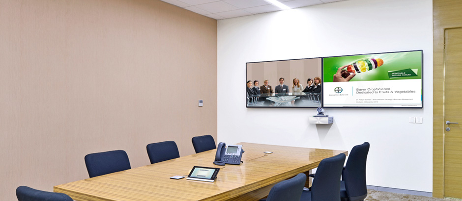 Video Conferencing room at Bayer Vapi