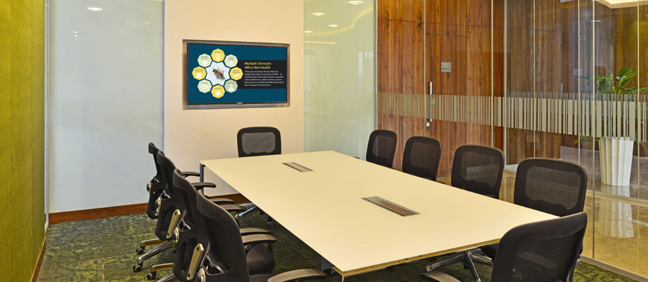 10-seater Meeting rooms at Bayer Thane