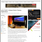 Actis Tech's Unique Home Cinema Experience
