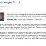 Actis Technologies Pvt. Ltd.