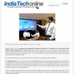 Actis brings gesture technology to corporate India