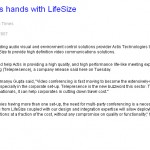 Actis joins hands with LifeSize