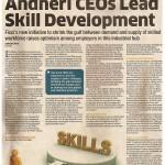 Andheri CEOs lead skill development
