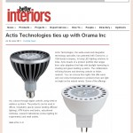 Actis Technologies ties up with Orama Inc