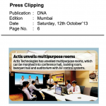 Actis unveils multipurpose rooms