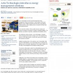 Actis Technologies introduces energy management solutions