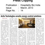 Actis Technologies unveils energy control solutions