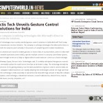 Actis Tech Unveils Gesture Control Solutions for India