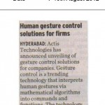 Human gesture control solutions for firms