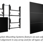 Mounting systems can make or break your video wall