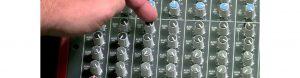 How does mix-minus address audio echo