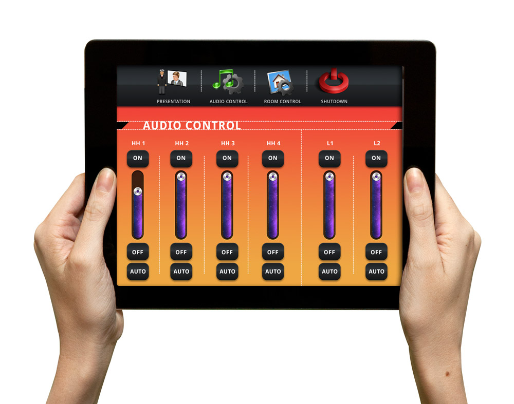 Control Interface on Ipad