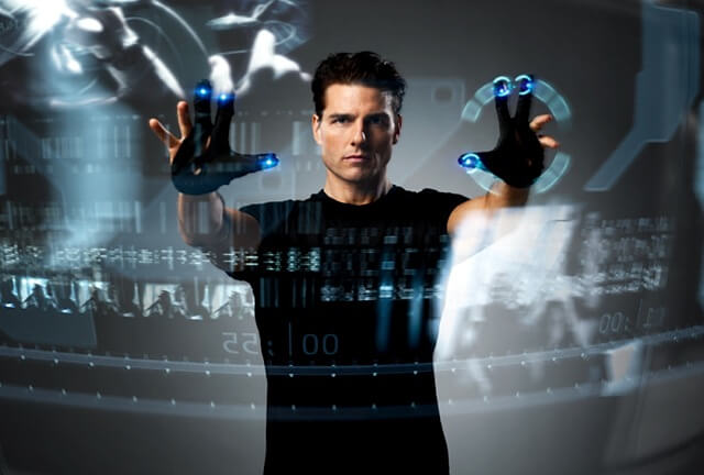 Kinect Minority Report