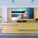 Cost effective displays for high-impact video walls