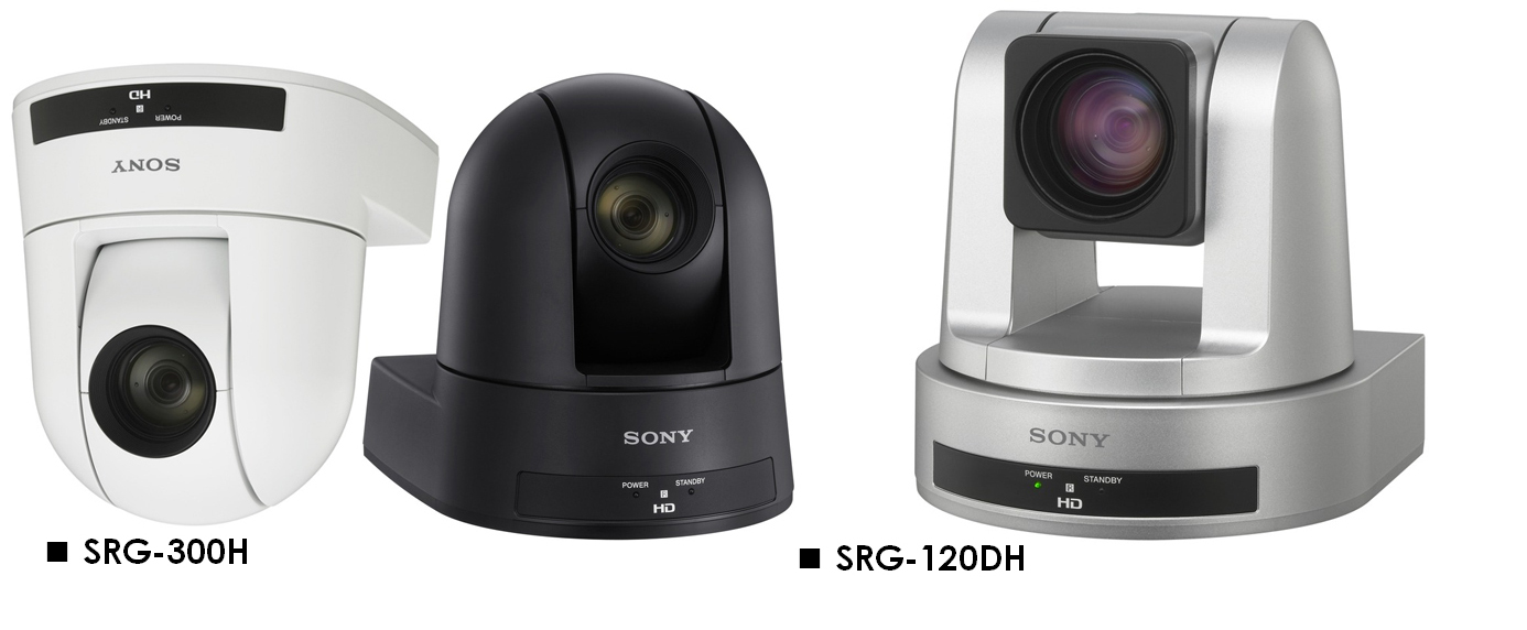 Sony's new PTZ cameras (SRG-300H & SRG-120DH)