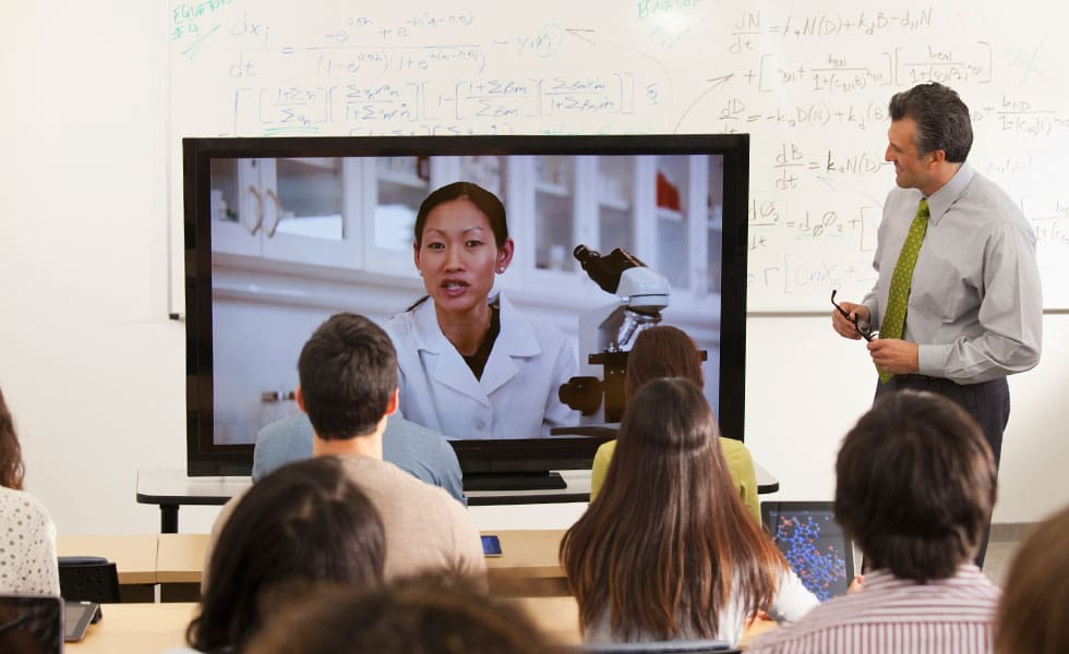 Fostering global collaboration through video conferencing