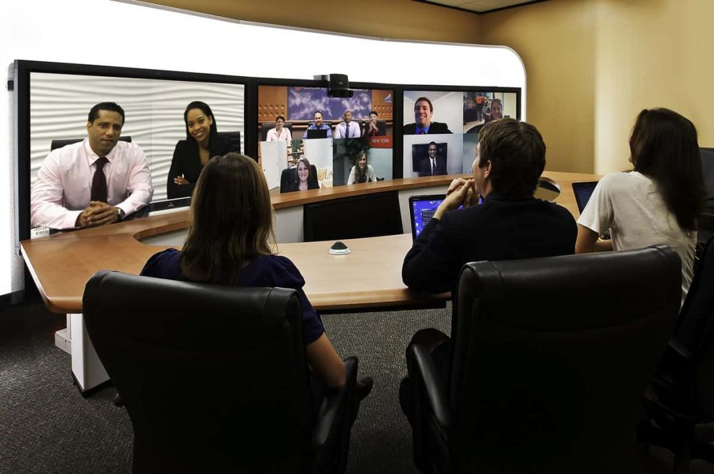 Video conferencing for increased collaboration