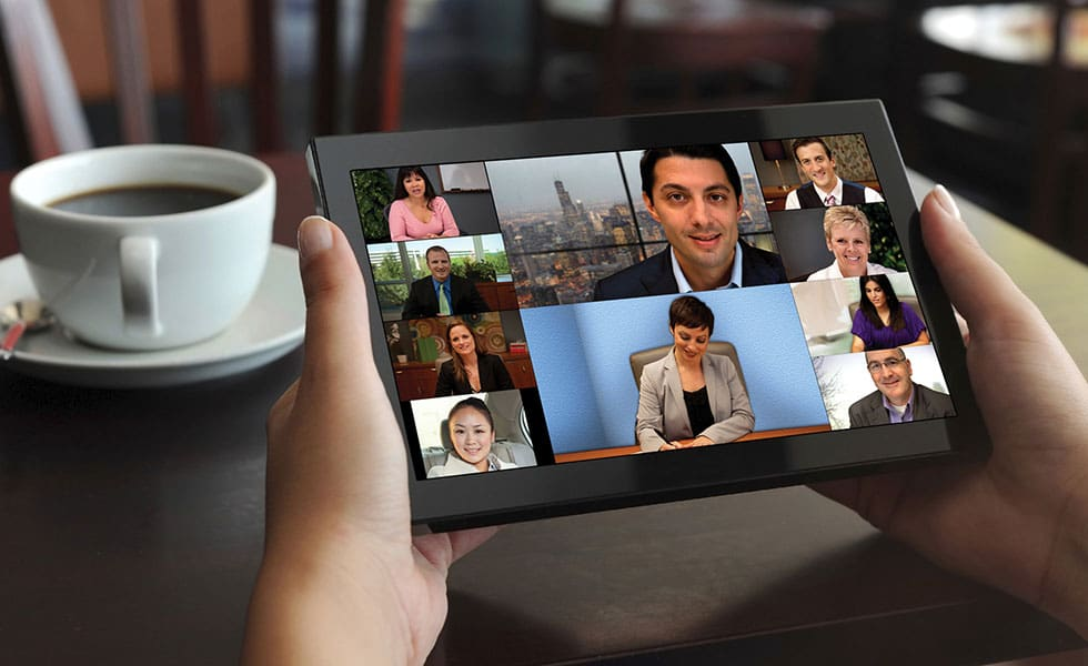 Multiparty video conferencing solution