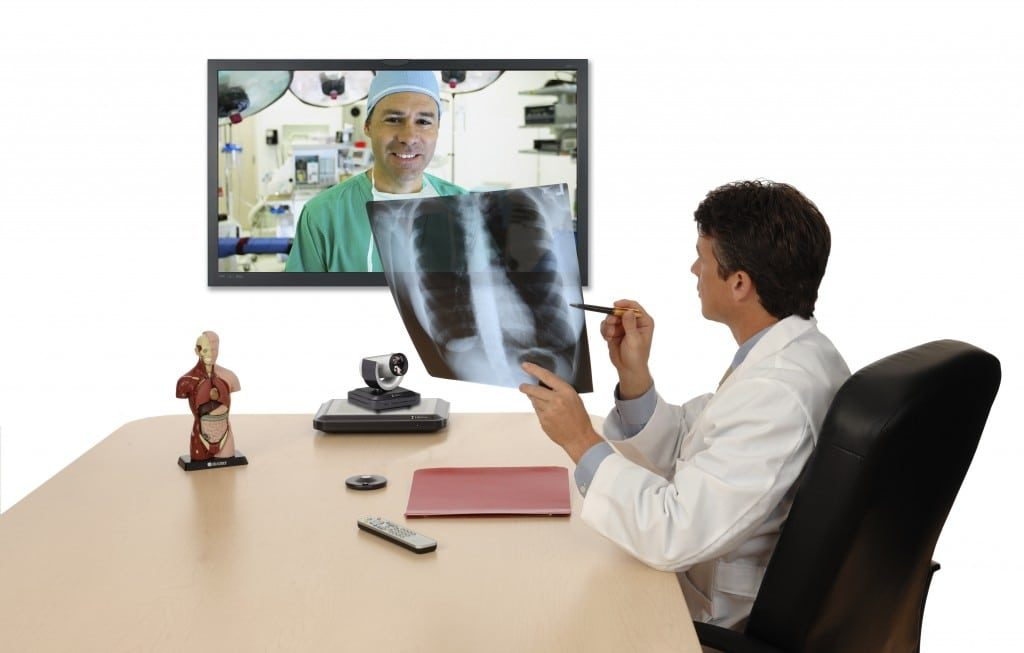 Consulting through video conferencing regardless of location