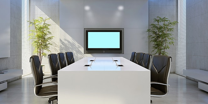 Connected meeting room