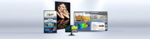 Best-in-class images with 4K displays