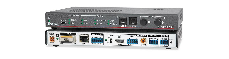 XTP SFR HD 4K scaling receiver