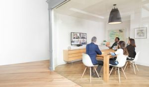 Audio and Video conferencing for Huddle Room