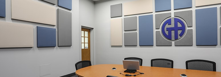 Basic room acoustic treatment