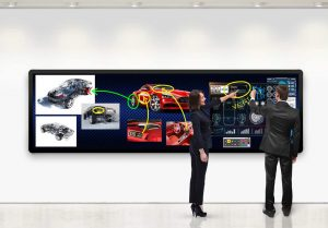 Digital signage technology by Planar