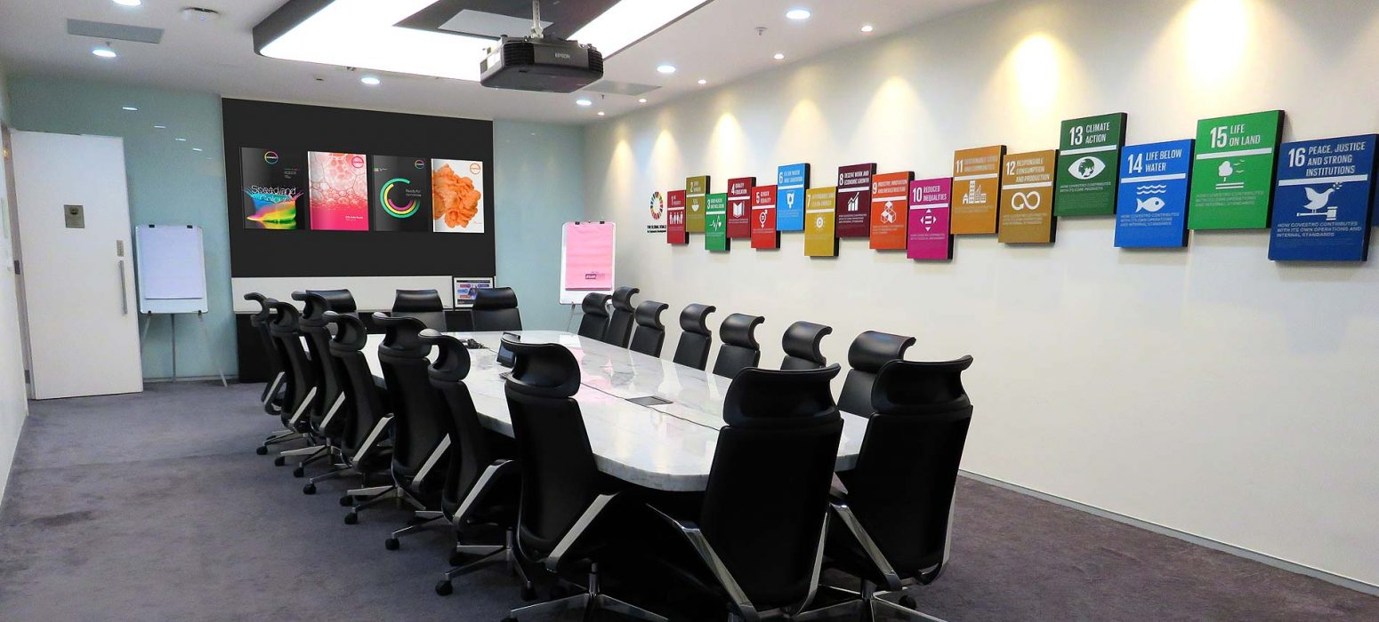 The Boardroom — 19-seater room which is VC-enabled