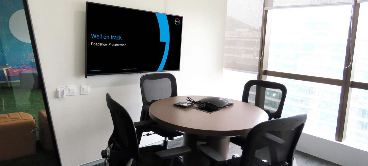 4-seater Meeting Room — Equipped for audio conferencing